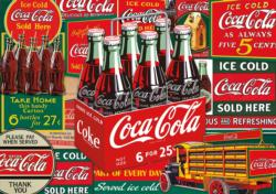 Coca-Cola Evergreen Coca Cola Jigsaw Puzzle