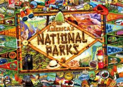 America's National Parks National Parks Jigsaw Puzzle