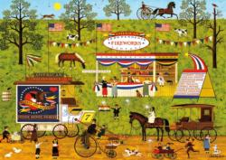 Bang, Boom, Barn & Pow Fireworks Jigsaw Puzzle