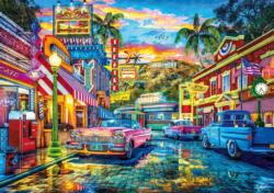 Old Hollywood California Jigsaw Puzzle