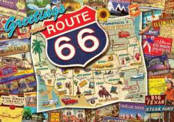 Route 66 Landmarks / Monuments Jigsaw Puzzle