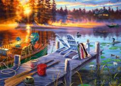 Morning Magic Sunrise / Sunset Jigsaw Puzzle
