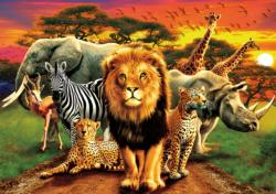 African Beasts - Scratch and Dent Zebras Jigsaw Puzzle