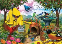 Hidden Birds Birds Jigsaw Puzzle