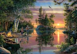 Catching Memories Lakes / Rivers / Streams Jigsaw Puzzle