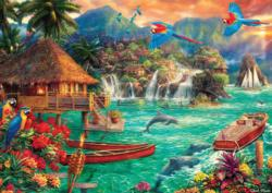 Island Life Sunrise / Sunset Jigsaw Puzzle