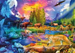 The Wild North Lakes / Rivers / Streams Jigsaw Puzzle