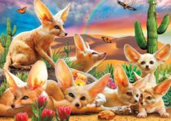 Fantastic Fennec Foxes Nature Jigsaw Puzzle