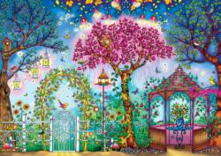 Songbird Garden (Secret Garden) Adult Coloring Pages Included Jigsaw Puzzle