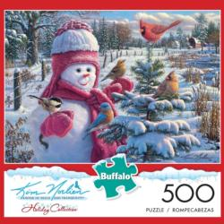 Snowbaby Grace (Days to Remember) Snowman Jigsaw Puzzle