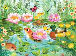 Life at the Pond Lakes / Rivers / Streams Jigsaw Puzzle
