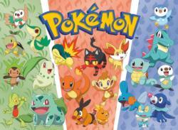 Pokemon - Starters Pokemon Cartoons Children's Puzzles