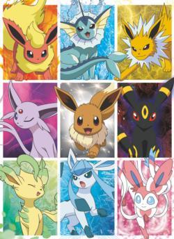 Pokemon - Eevee's Elements Cartoon Children's Puzzles