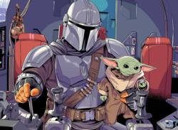 Star Wars - The Mandalorian - The Child Sci-fi Children's Puzzles