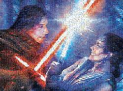 Strong With The Force Star Wars Photomosaic