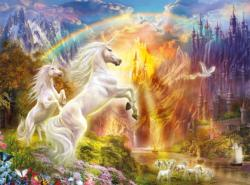 Unicorn Sunset - Glitter Edition Unicorns Jigsaw Puzzle