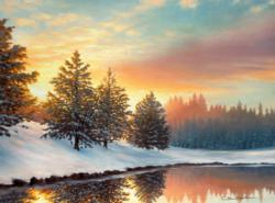 One Quiet Morning Sunrise / Sunset Jigsaw Puzzle