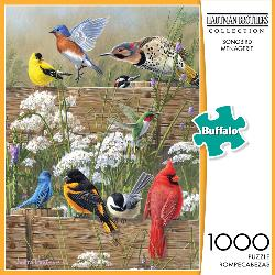 Songbird Menagerie Nature Jigsaw Puzzle