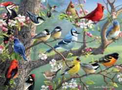 Birds in an Orchard Birds Jigsaw Puzzle