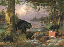 Breakfast Time Bears Lakes / Rivers / Streams Jigsaw Puzzle