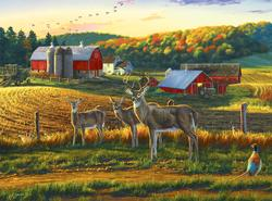Harvest Time Wildlife Jigsaw Puzzle