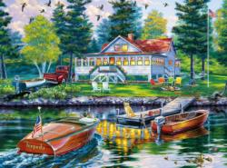 Cottage Retreat Outdoors Jigsaw Puzzle