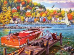 Season Finale Seascape / Coastal Living Jigsaw Puzzle