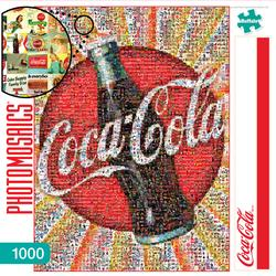 Coca-Cola Americana & Folk Art Photomosaic Puzzle