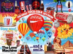 Sky Show Coca Cola Jigsaw Puzzle