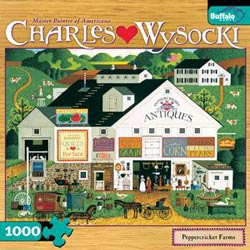 Peppercricket Farms Folk Art Jigsaw Puzzle