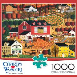 Butternut Farms Folk Art Jigsaw Puzzle