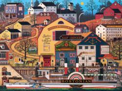 The Bostonian Folk Art Jigsaw Puzzle