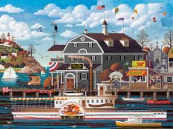 Fairhaven by the Sea Americana & Folk Art Jigsaw Puzzle