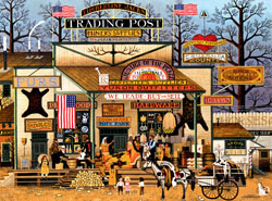 Timberline Jacks General Store Jigsaw Puzzle