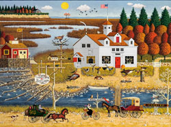 Carver Coggins Fall Jigsaw Puzzle