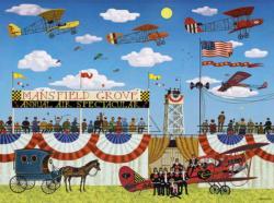 Mansfield Air Spectacular Nostalgic / Retro Jigsaw Puzzle