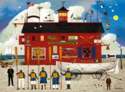 The Sea Buglers Seascape / Coastal Living Jigsaw Puzzle