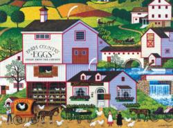 Virginias Nest Farm Jigsaw Puzzle