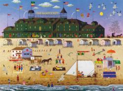 The Nantucket Seascape / Coastal Living Jigsaw Puzzle