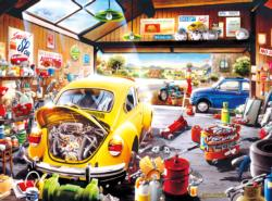 Sam's Garage Nostalgic / Retro Jigsaw Puzzle