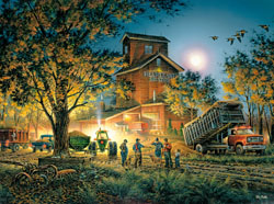Bountiful Harvest Fall Jigsaw Puzzle