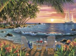 Summertime Sunrise / Sunset Jigsaw Puzzle
