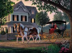 Home Sweet Home Domestic Scene Jigsaw Puzzle