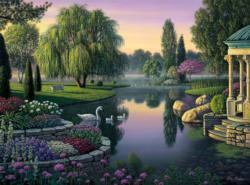 Secret Garden Lakes / Rivers / Streams Jigsaw Puzzle