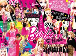 Fashion Fabulous Barbie Collage Jigsaw Puzzle
