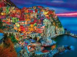 Cinque Terre Europe Jigsaw Puzzle