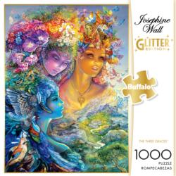 The Three Graces (Glitter Edition) Fairies Jigsaw Puzzle