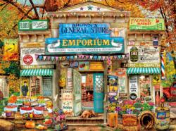 Brown's General Store General Store Jigsaw Puzzle