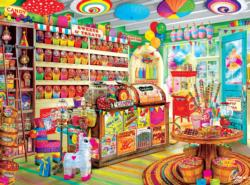 Corner Candy Store Sweets Jigsaw Puzzle