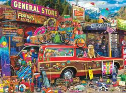 Family Vacation General Store Jigsaw Puzzle